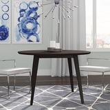 Brayden Studio® Allenbie Round Stained Dining TableWood in Brown, Size 30.0 H x 47.0 W x 47.0 D in   Wayfair BRYS2234 31063558