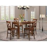 5 PC counter height set - Small Kitchen Table and 4 counter height Chairs.