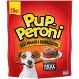 Pup-Peroni Filet Mignon & Bacon Flavors Dog Treats, 25-oz bag