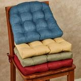 Rave Chair Cushions Set of Two, Set of Two, Burgundy