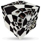 V-Cube 5206457000357 Chessboard Illusion 3 Cube Toy