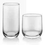 Libbey Ascent 16-Piece Tumbler & Rocks Glass Set Glass, Size 3.7 H x 3.5 W in | Wayfair 56601