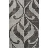 "Candice Olson Rugs Paradox Wool Aqua Area Rug, Wool in Blue/Brown/Tan, Size Rectangle 5' x 7'6"" | Wayfair PRX1002-576"