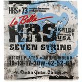 La Bella HRS-73 Nickel 7-string Electric Guitar Strings - .010-.064 Heavy