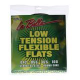La Bella LTF-4A Low Tension Flexible Flats Bass Strings - 4-string