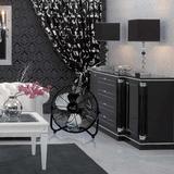 "Vie Air 20"" Floor Fan in Black, Size 24.0 H x 23.5 W x 10.5 D in | Wayfair 95096355M"