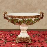 Winterberry Decorative Centerpiece Bowl Red , Red