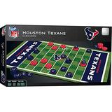 MasterPieces NFL Houston Texans Checkers Board Game Set, For 2 Players, Ages 6+