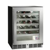 Perlick 32 Bottle Freestanding Wine Refrigerator in Gray, Size 32.0 H x 24.0 W x 23.88 D in | Wayfair HA24WB-4-3R