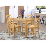 5 Pc counter height pub set-pub Table and 4 counter height Dining chair