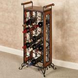Milano Wine Bottle Rack Windsor Oak , Windsor Oak