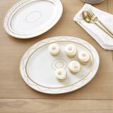 Bunny Williams Gold Star Serving Platters Small - Ballard Designs