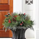 Mixed Pine & Berry Planter Insert - Ballard Designs