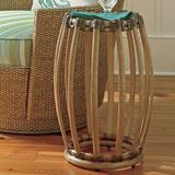 Tommy Bahama Home Twin Palms 3 Piece Coffee Table Set Wood/Glass in Brown/Gray/White, Size 16.75 H x 48.25 W in | Wayfair
