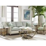 Tommy Bahama Home Twin Palms 3 Piece Coffee Table Set Wood/Glass in Brown, Size 18.75 H x 42.0 W in   Wayfair