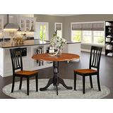 Dining set - 3 Pcs with 2 Wooden Chairs