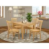 5 PC Kitchen Table set - Kitchen dinette Table and 4 Dining Chairs