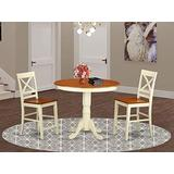 3 Pcpub Table set-pub Table and 2 Dining Chairs.