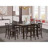 9 Pc counter height set- Square Table and 8 counter height Chairs