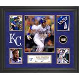 """""""Alex Gordon Kansas City Royals Framed 5-Photo Collage with Piece of Game-Used Ball"""""""