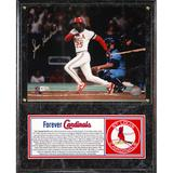 """""""Forever Cardinals Collection - George Hendrick Autographed Photo Plaque"""""""