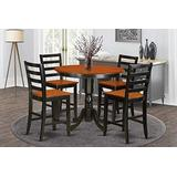 5 Pc pub Table set - Kitchen dinette Table and 4 bar stools.
