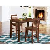 3 PC counter height Dining set - high top Table and 2 Kitchen Dining Chairs.