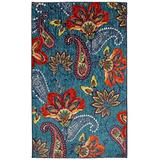 """Mohawk Home Whinston Paisley Floral Accent Area Rug, 2'6""""x3'10"""", Multi"""