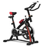 Costway Household Adjustable Indoor Exercise Cycling Bike Trainer with Electronic Meter