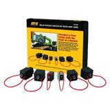 INNOVATIVE PRODUCTS OF AMERICA 9038A Relay Bypass Switch Kit,Handheld,6 pcs.