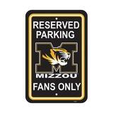 NeoPlex NCAA Parking Sign Plastic, Size 18.0 H x 12.0 W x 0.1 D in | Wayfair K50244=