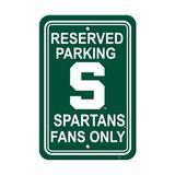 NeoPlex NCAA Parking Sign Plastic, Size 18.0 H x 12.0 W x 0.1 D in | Wayfair K50239=