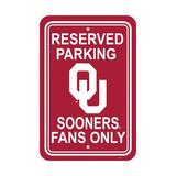 NeoPlex NCAA Parking Sign Plastic, Size 18.0 H x 12.0 W x 0.1 D in | Wayfair K50253=