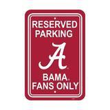 NeoPlex NCAA Parking Sign Plastic, Size 18.0 H x 12.0 W x 0.1 D in | Wayfair K50201=