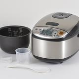 Zojirushi Micom Rice Cooker & Warmer, 3 Cup (Uncooked), Stainless Black, Size 7.5 H x 9.13 W x 11.88 D in | Wayfair NS-LGC05XB