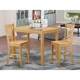 3 PC counter height pub set - Dining Table and 2 bar stools.