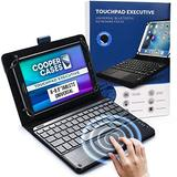 """Cooper Touchpad Executive [Multi-Touch Mouse Keyboard] case for 8-8.9"""" Tablets 