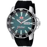 Seapro Men's Scuba Dragon Diver LTD Stainless Steel Quartz Watch with Stainless-Steel Strap, Black, 23 (Model: SP8318)
