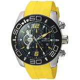 Invicta Men's Pro Diver 50mm Stainless Steel and Yellow Silicone Chronograph Quartz Watch , Yellow (Model: 22808)