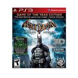 Batman: Arkham Asylum -- Game of the Year Edition (PlayStation 3)