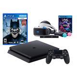 PlayStation VR Launch Bundle 3 Items:VR Launch Bundle,PlayStation 4,VR Game Disc Batman Arkham VR