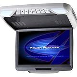 """Power Acoustik PMD-143H Ceiling Mount DVD Overhead with 14.3"""""""" LCD/MobileLink, Beige"""
