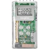 New-SANGEAN DT-120 CLEAR POCKET AM/FM DIGITAL RADIO (CLEAR) - SNGDT120C