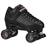 Roller Derby Stomp Factor 5 Black Quad Skates ColorBlack Size 4