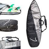 DORSAL Board Bag Travel Day Surfboard Cover - Black/Grey 6'2