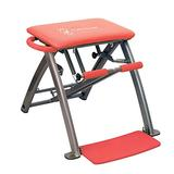 Life's A Beach Red Pilates Pro Chair and DVDs