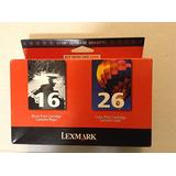 Lexmark International, Inc - Lexmark Twin Pack Color Ink Cartridge - Assorted, Color - Inkjet - 410 Page, 275 Page - 2 / Pack Product Category: Print Supplies/Ink/Toner Cartridges