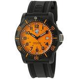 Luminox Men's 'Ops Carbon' Swiss Quartz Resin and Rubber Watch, Color:Black (Model: 8809.GG)
