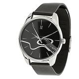 Guitar Black Stainless Steel Watch, Black Guitar Watch, Music Lover Watch, Stainless Steel Watch, Unisex Watch, Every Watch Comes in A Beautiful Gift Box and with an Additional Band