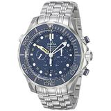 Omega Men's 21230445203001 Analog Display Swiss Automatic Silver Watch